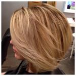 Salon Image Client  Mid Length Hair Styled